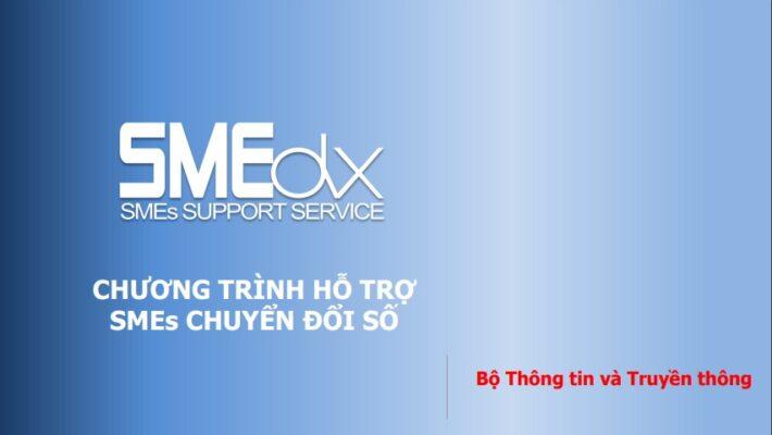 Chương trình hỗ trợ SMEs chuyển đổi số