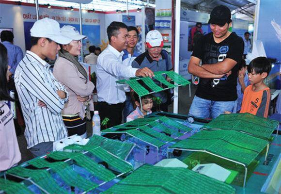 200 gian hàng tham gia Triển lãm Công nghệ ngành tôm tại Cần Thơ